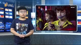MC HOÀNG MINH - KHÓA MC NHÍ N252 VIETSKILL - THỰC HÀNH GHI HÌNH TRƯỜNG QUAY