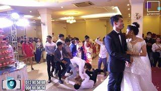 តើផ្កាបានលើអ្នកណាគេ? វគ្គរាំកម្សាន្តកូនប្រុសវណ្ណឈុង កូនស្រីគន្ធី | Wedding Dance Original video 2020