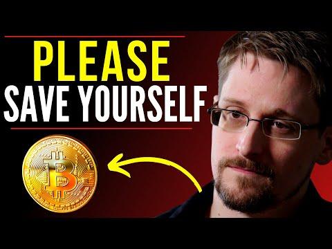 Edward Snowden Bitcoin - Final WARNING! Edward Snowden Reveals Dark Truth About Bitcoin