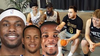 CAN YOU GUESS THAT NBA PLAYER FACE MERGE! With Jesser Los Mopi Jidel! 2Hype Challenge!