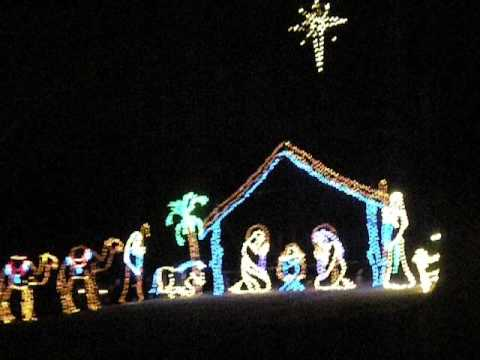 christmas lights at tanglewood park 2012