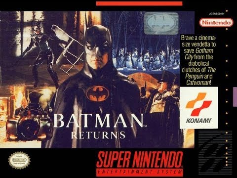 SNES Batman Returns Video Walkthrough