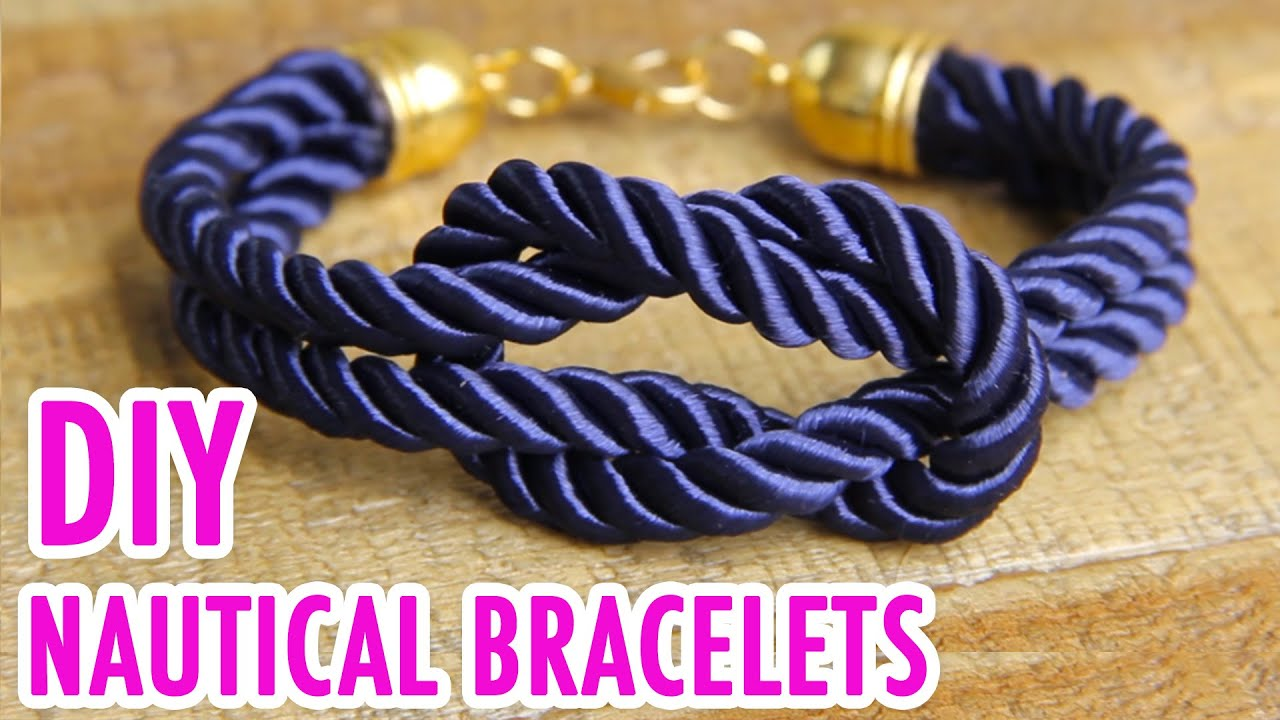 bracelet charm bracelets products nautical sea sailor rope cord mens