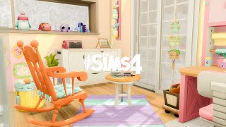 Knitting Lover Home - The Sims 4 สร้างบ้าน (speed build no cc)