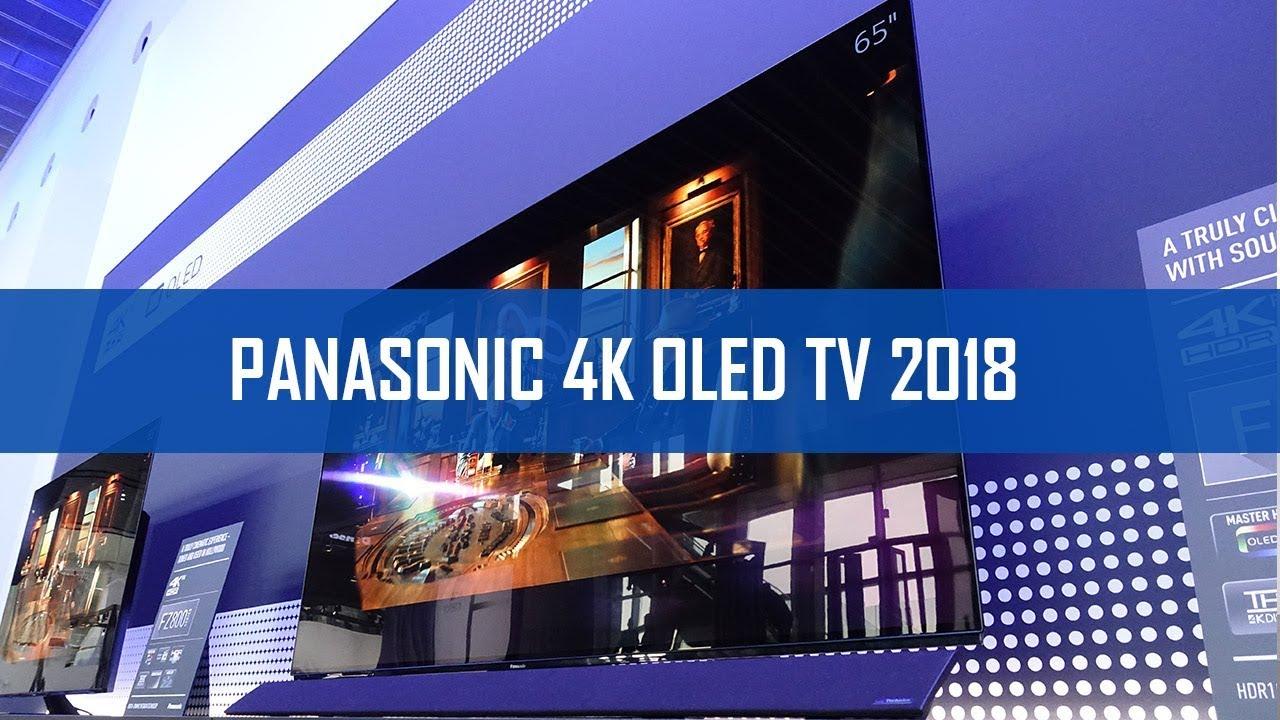 panasonic 4k oled tv neuheiten 2018 fzw954 fzw804. Black Bedroom Furniture Sets. Home Design Ideas