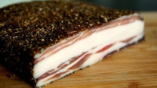 PANCETTA Video Recipe - How To make pancetta - Home made