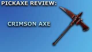 Crimson Axe Pickaxe Review + Sound Showcase! ~ Fortnite Battle Royale