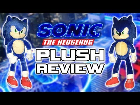 Toy Factory Sonic The Hedgehog Movie Plush Review Youtube