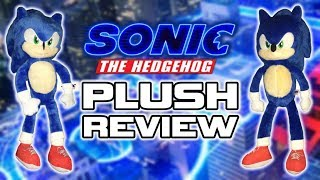 Toy Factory Sonic The Hedgehog Movie Plush REVIEW!