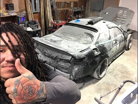 SC300 custom widebody and paint update