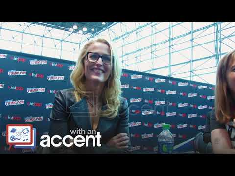 NYCC 2017: The X-Files Gillian Anderson