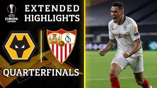 Wolves vs. Sevilla | Europa League quarterfinal highlights | UCL on CBS Sports
