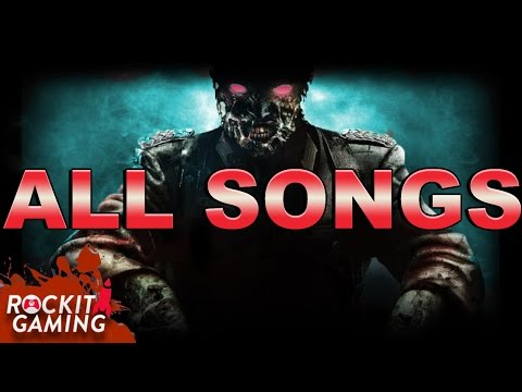 ALL BLACK OPS 3 ZOMBIE SONGS | Rockit Gaming