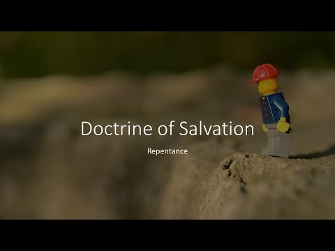 Repentance (with LEGO) - Doctrines of Salvation · 200122 Bible Study · Russel Wilkinson