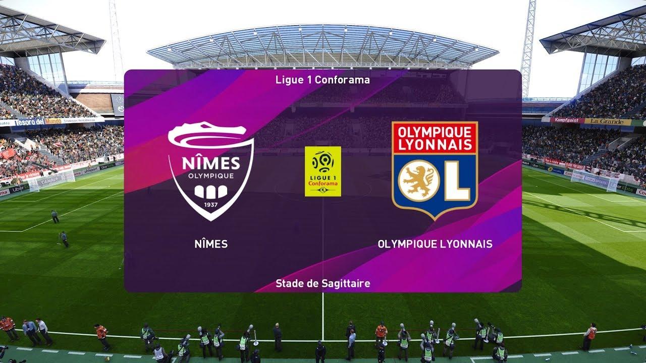 Xem lại Nimes vs Lyon,