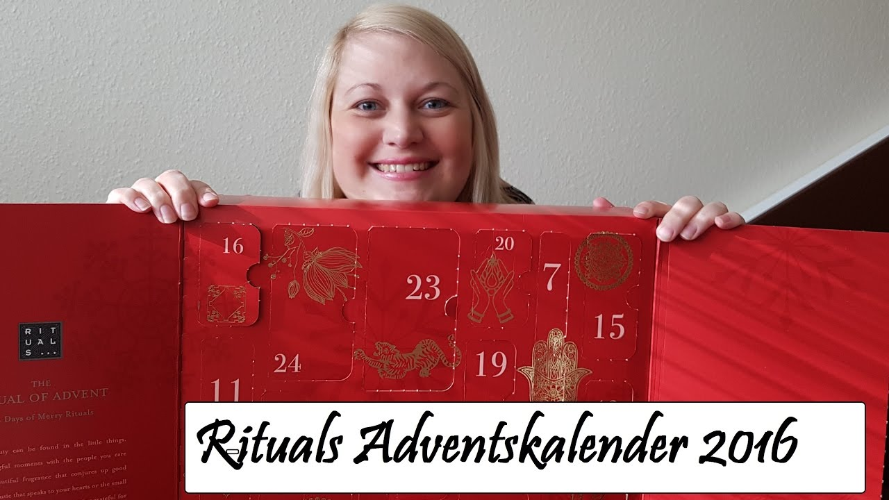rituals adventskalender 2016 was war drin gesamtwert. Black Bedroom Furniture Sets. Home Design Ideas