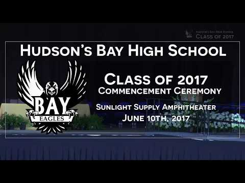 Hudson's Bay High School Graduation 2017