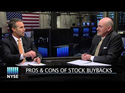 Pros & Cons of Stock Buybacks