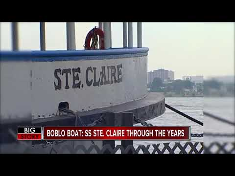 Boblo Boat: SS Ste. Claire through the years