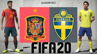 """HISZPANIA vs SZWECJA - Hogaty i Sylo w FIFA 20 """"Eliminacje Mistrzostw Europy"""" POJEDYNKI ONLINE #02"""