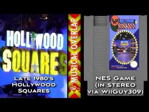 Musical Overlap - Hollywood Squares Cues (Davidson) vs the NES cues