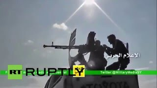 Syria: Govt. forces end 3-year siege of 2 towns in Aleppo province