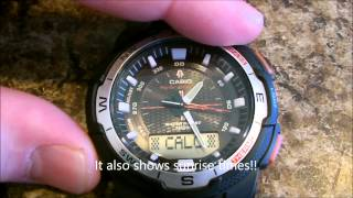casio sgw 500h watch review
