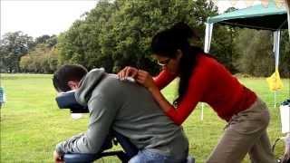 Shiatsu Chair Massage - Charity Pt2