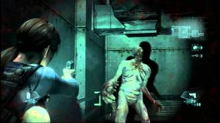 Resident Evil: Revelations - Gameplay - Raid Mode - Режим Рейд - Этап 1 - PC [1080p]