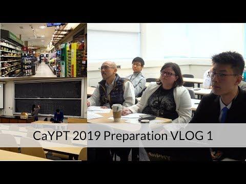 CaYPT 2019 Preparation