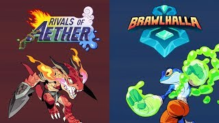 Brawlhalla and Rivals of Aether Crossover Skins thumbnail