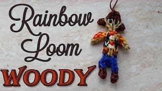 How to Make Rainbow Loom Woody Figurine Toy Story Regenboog Loom Monster Tail