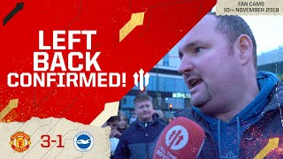 WILLIAMS OVER YOUNG! MAN UTD 3 BRIGHTON 1 | - Andy Tate Fancam