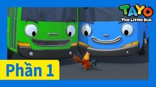 Tayo Phần1 Tập7 l Tất cả cùng hòa thuận l Tayo xe buýt bé nhỏ l Phim hoạt hình cho trẻ em