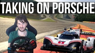 Trying To Beat Porsches Spa Record In Their 919 Evo