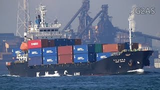 SUNNY SPRUCE コンテナ船 Container ship KMTC 2017-NOV