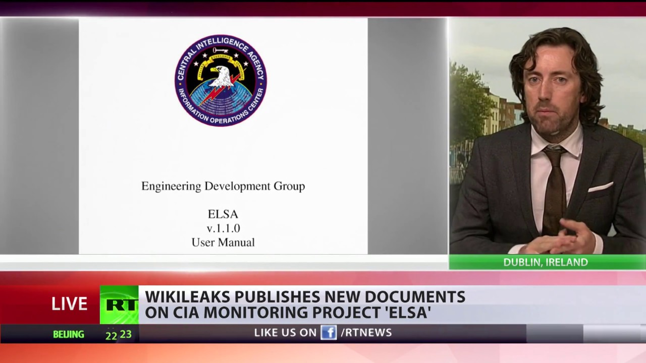 'Elsa' Malware: Wikileaks dumps new docs on CIA hacking tools