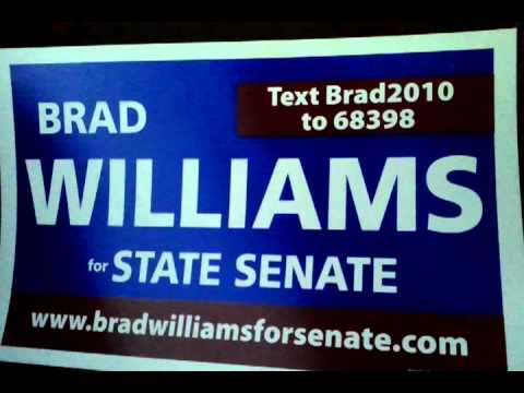 Brad Williams for State Senate on the Howie Carr Show 09-13-2010.3gp