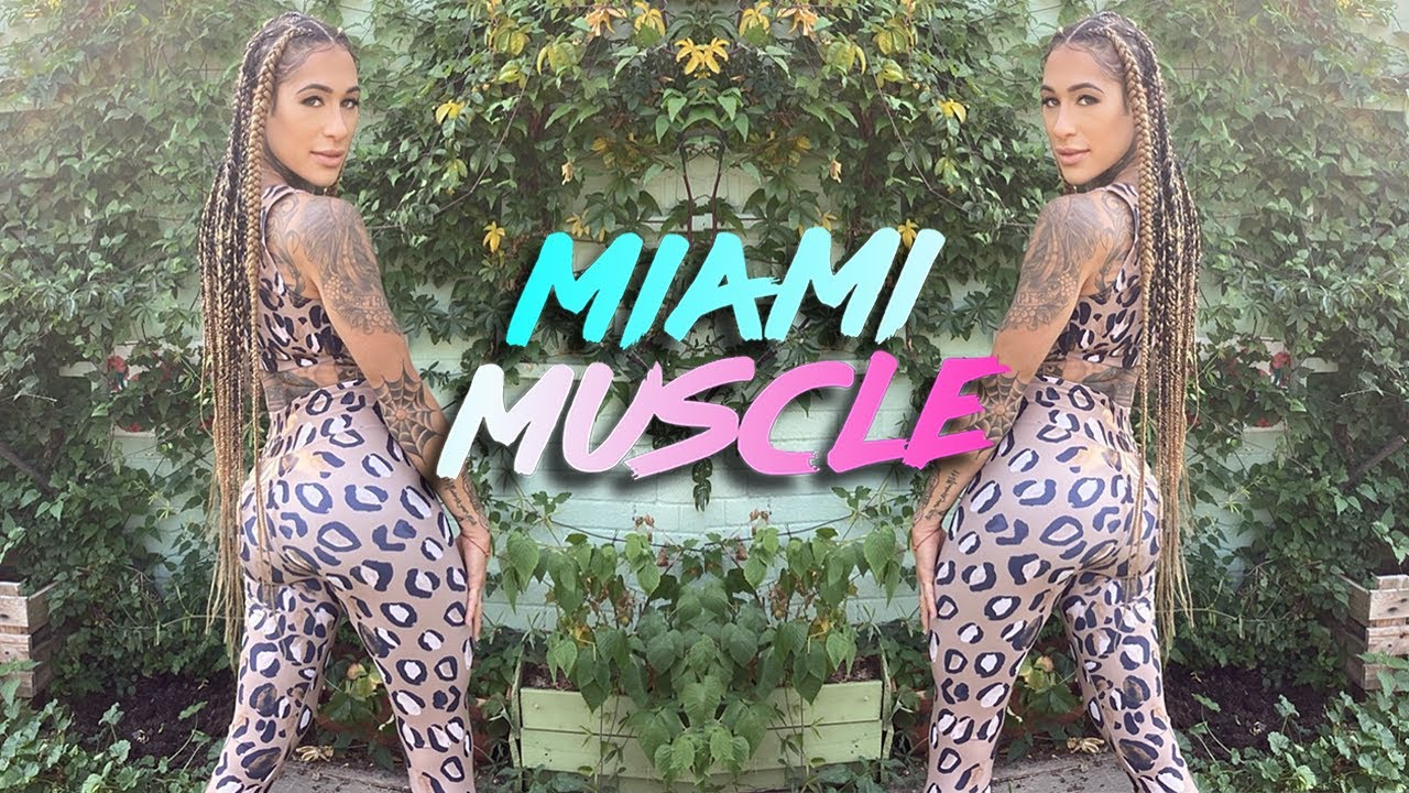 Miami's 'Booty Sculptor' Does Twerk Burpee Challenge | MIAMI MUSCLE