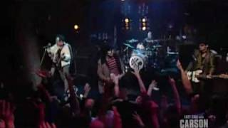 The Foxboro Hot Tubs(Green Day) - Stop Drop and Roll/Mother Mary(on Last Call with Carson Daly)