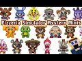 FnaF Pizzeria Simulator FUNKO Mystery Minis Reveal Five Nights At Freddy S ALL 18 Exclusives mp3
