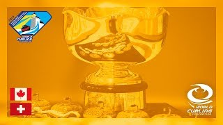 Canada v Switzerland - Men\'s gold medal game - World Junior Curling Championships 2019