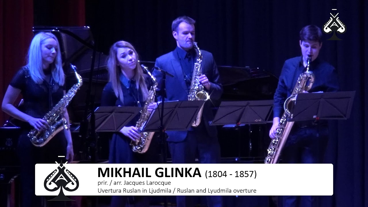 Adolphesax.com - AS Festival - SOS Sax Orquestra - M.Glinka - Ruslan and Ljudmila Overture
