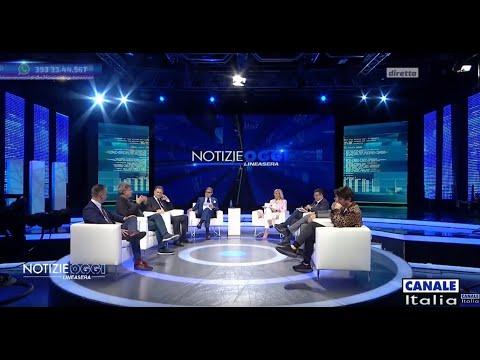 Notizie Oggi Lineasera | trasmissione del 7 Maggio 2021 - Canale Italia