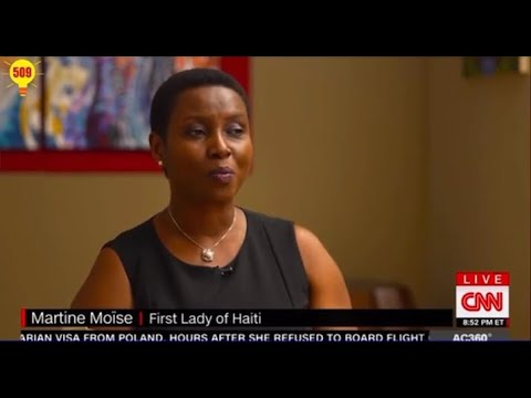 CNN interview with Haitian President's Widow Martine Moïse