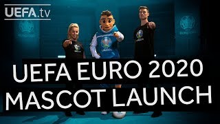 Your UEFA EURO 2020 Mascot Team are here