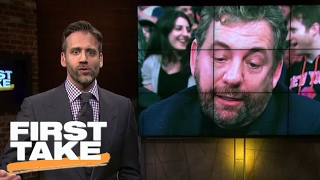 James Dolan Should Learn From The Spurs' Owner | Final Take | First Take | February 15, 2017