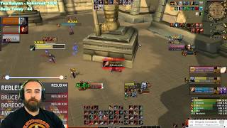 """Bajheera - """"WTF THIS COMP OWNS?!"""" (Arms 3v3 Arena) - WoW BFA 8.2 Warrior PvP"""
