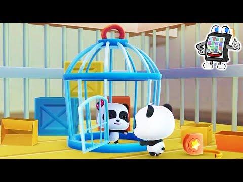 BABY PANDA'S Puzzle Town Deutsch App - GEGEN DIE BURGER-BANDE! STADT RETTEN! Spiel mit mir Kanal