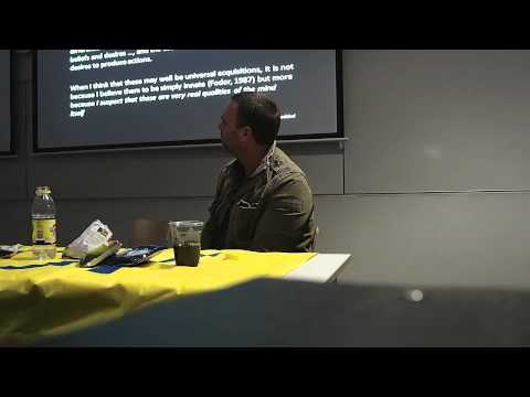 "The Limits of Social Understanding - Dr. Marc de Rosnay (Part 1) ""Psyche"" Lecture Series"